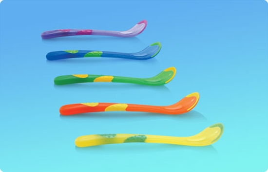 Picture of Hot Safe™ Weaning Spoons