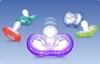 Bild von Nûby Natural Touch Soft Flex Beruhigungssauger flach-oval