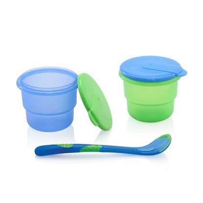 Picture of 4pk Storage Bowls with Feeding Spoon
