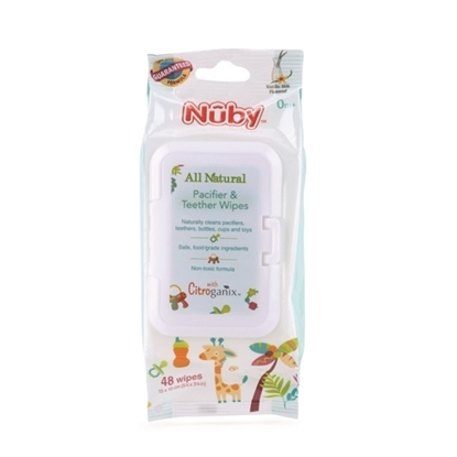 Picture of All Natural Pacifier & Teether Wipes with Citroganix™