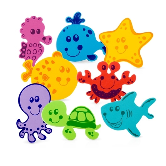 Picture of Foam Bath Animals - 16 pieces