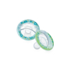 Picture of 0-6m Softees Pacifier - cherry baglet - 2 pack