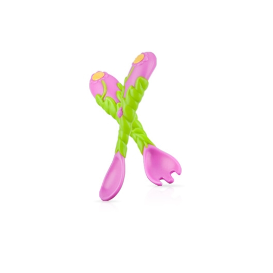 Picture of Flower Child™ Spoon & Fork Set