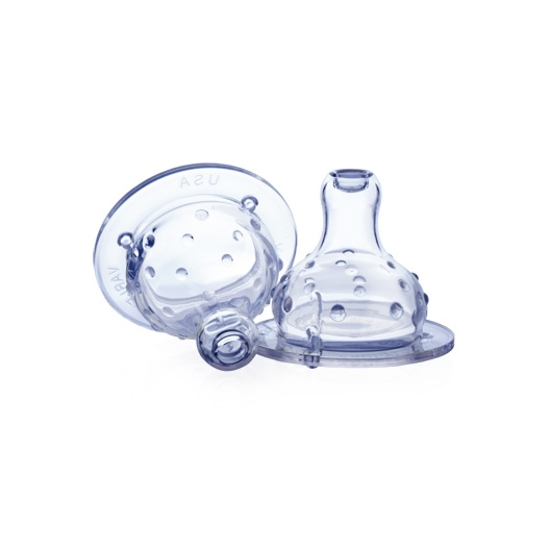 Picture of Non-Drip Wide Neck Nipple - 2 pack