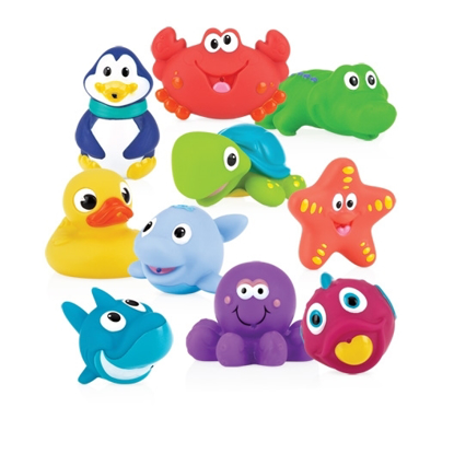 Picture of Little Squirts™ Bath Squirters - 10 pack