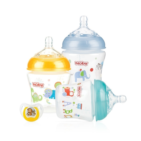 Picture of Infant Bottle - 3 pack + Bonus Pacifier