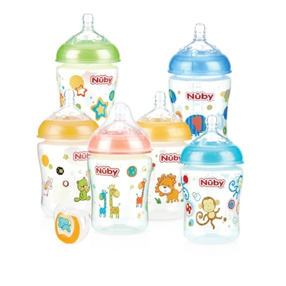 Picture of Infant Bottle - 6 pack + Bonus Pacifier