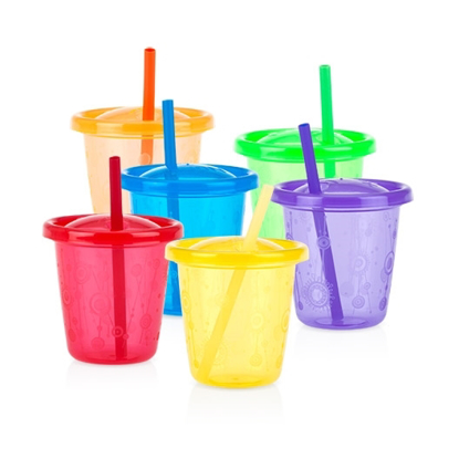 Picture of Wash or Toss™ Straw Cups 7oz/210ml - 6 pack