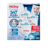 Picture of Comfort™ 360° PLUS+™ Anti-Reflux & Anti-Colic Bottle Starter Set