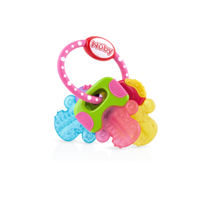 Picture of IcyBite™ Keys Perfectly Pink Teether