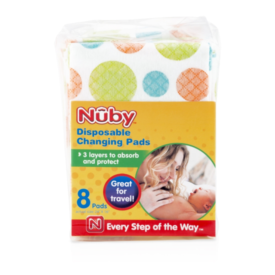 Picture of Disposable Changing Pads - 8 count