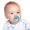 Picture of 0-6m Pacifier - cherry baglet - 2 pack
