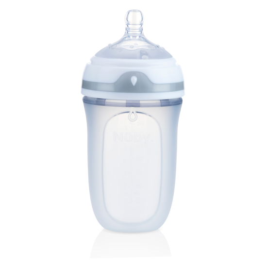 Picture of Comfort™ Soft Squeezable Silicone Anti-Colic 8oz Bottle