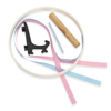 Picture of Keepsake Ornament Kit - Round w/ Easel & Ribbons