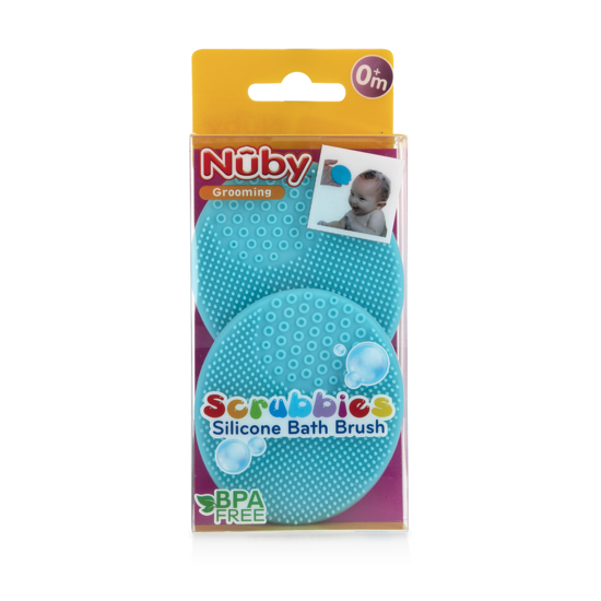 Picture of Scrubbies Silicone Bath Brush - 2 pack