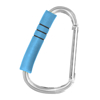 Picture of Handy Hook - Silver Aluminum with Turquoise Blue Foam
