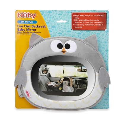 Picture of Owl Back Seat Baby View Mirror